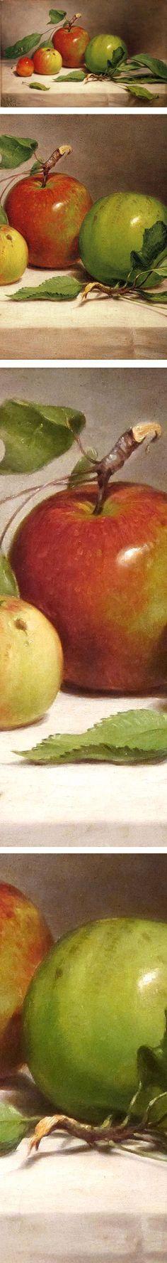 Still Life - Study of Apples, William Rickarby Miller: