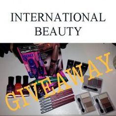 Beauty  INTERNATIONAL GIVEAWAY ^_^ http://www.pintalabios.info/en/youtube-giveaways/view/en/177 #International #MakeUp #bbloggers #Giweaway
