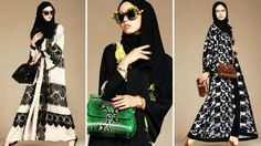 Dolce & Gabbana Abaja Line of Hijabs and Abajas for wonderful Woman of Arabia.