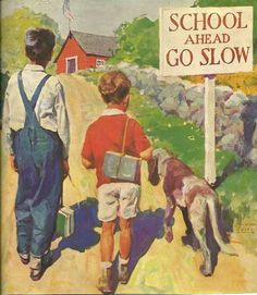 Vintage Print Boys 1930's Magazine with Antique Advertising