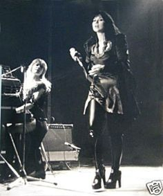 Ann and Nancy Wilson, two awesomely talented women.