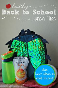 Healthy Back to School Lunch Tips #RockTheLunchbox
