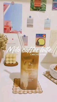 Coffee Drink Recipes, Milkshake Recipes, Snack Recipes, Cooking Recipes, Snacks, Japanese Drinks, Food Humor, Fun Drinks, Diy Food