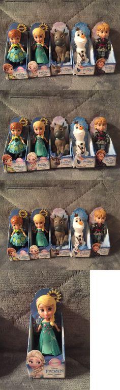 Disney Princesses 146030: Disney Frozen Mini Toddler Dolls Sven Kristoff Olaf Anna And Elsa Frozen Fever Set -> BUY IT NOW ONLY: $49.98 on eBay!