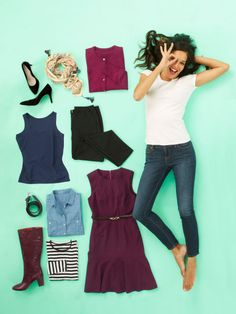 Mix your trusty basics with a few key buys for 24 fast and fresh outfit ideas for fall.