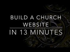 How to Build a Church Website in 13 Minutes with Finalweb 2.0 - YouTube