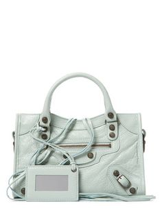 Classic City Arena Lambskin Leather Mini Satchel