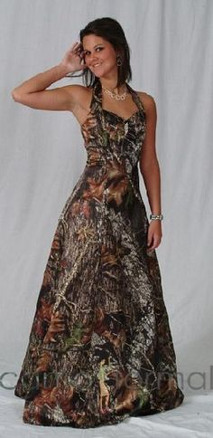 camo wedding gowns and dresses