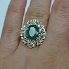 Gorgeous Emerald Ring.