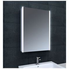 Lemer LED Wall Cabinet 550mm - Comes complete with demister infra red sensor and shaving. Mirror CabinetsBathroom ... & Bathroom Mirror Ideas (DIY) For A Small Bathroom | Pinterest ...