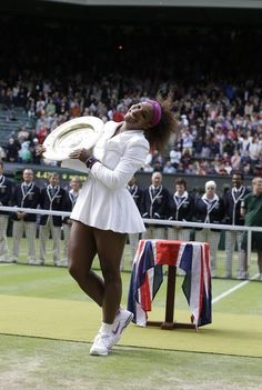 Serena Williams - Winning - Wimbledon for fifth time