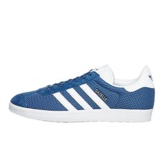 Buy adidas - Gazelle (Core Blue \u0026 Footwear White \u0026 Core Blue) online on  hhv.de - Discover Sneakers for men from selected Top Brands available in  our Online ...