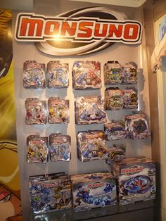 Monuno http://evan-and-lauren-a.blogspot.com/2012/10/102512-monsuno-toys-fun-to-launch-and.html