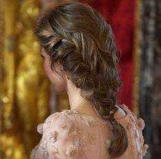 Royal hair inspiration: 11 of the best plaits on Kate Middleton, Queen Letizia, Princess Beatrice and Royal Hairstyles, Plaits Hairstyles, Pretty Hairstyles, Loose Hairstyle, Hairdos, Wedding Hairstyles, Kate Middleton, Plait Styles, Single Braids