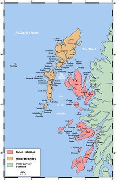 Islands of the Hebrides