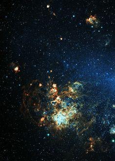 Tarantula End of the Large Magellanic Cloud