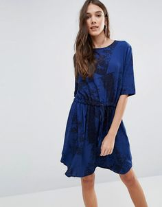 Buy it now. Y.A.S Elisa Marble Print Dress - Blue. Casual dress by Y.A.S., Printed woven fabric, Round neckline, Drawstring waistband, Curved hem, Regular fit - true to size, Machine wash, 100% Polyester, Our model wears a UK M/EU M/US S and is 169cm/5'6.5 tall. ABOUT Y.A.S. Y.A.S. � �your apparel and style� � sees the successful Vero Moda Very transformed into a contemporary, fashion-forward brand. Exuding understated cool, Y.A.S. is for the independent girl who sees what she wears a...
