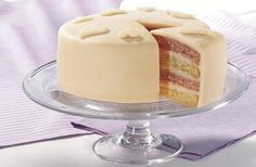 Battenberg Layer Cake
