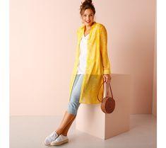 Dlhá košeľa s potlačou | blancheporte.sk #blancheporte #blancheporteSK #blancheporte_sk #jarnakolekcia #jar #isabella Nova, Kimono, Tunic, Kimonos
