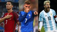Cristiano Ronaldo, Griezmann y Messi, a por el premio The Best
