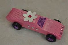 My Pink Stamper: Pinewood Derby with My Pink Stamper Awana Grand Prix Car Ideas, Pinewood Derby Car Kits, Girl Scout Activities, Derby Winners, Daisy Girl Scouts, Brownie Girl Scouts, Powder Puff, Car Girls, Crafts For Kids