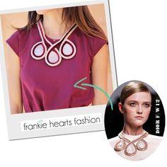DIY Dior Inspired Necklace DIY Jewelry DIY Necklace