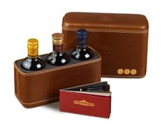 DEWAR'S, the most popular brand in the United States is introducing the #DEWAR'S Discovery Gift Set, a special three-pack of Signature, DEWAR'S 12 and the new DEWAR'S 18.  The 200-millileter bottles are encased in a genuine leather pack that can be later used as a cigar case or a beautiful leather case for other items.