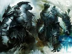 Why Guild Wars 2 is better than World of Warcraft…Bears? Guild Wars 2, Fantasy Character Design, Character Concept, Fantasy Creatures, Mythical Creatures, Bear Character, Bear Costume, World Of Darkness, Fantasy Armor