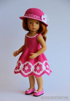 Моё рыжее солнышко. Minouche из коллекции 2016 года от Sylvia Natterer & Petitcollin. Одежда своими руками / Sylvia Natterer, Сильвия Наттерер. Коллекционно-игровые куклы / Бэйбики. Куклы фото. Одежда для кукол