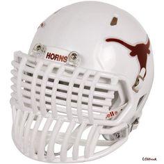 Everything's bigger in Texas! Nfl Football Helmets, Clemson Football, Sports Helmet, Custom Football, Sport Football, Football Season, Football Facemask, Helmets For Sale, Unbelievable Facts