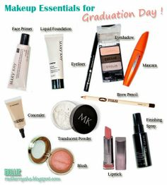 Makeup Essentials for Graduation Day