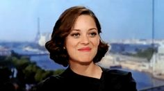 "As if Marion Cotillard coquetishly mimed ""Aw Shucks"" --with a charming French accent,of course. via GIPHY Marion Cotillard, Lady Dior, Hollywood Actresses, Actors & Actresses, Female Lips, Lip Biting, Stubborn Belly Fat, British Men, Tips Belleza"