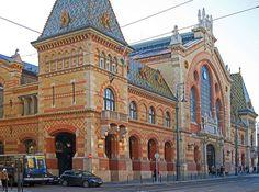 Budapest, Hungary - Big Market Hall -Fővámtéri Vásárcsarnok. Hungary