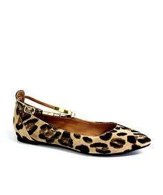Look what I found on #zulily! Cheetah Tasia Ankle-Strap Flat #zulilyfinds