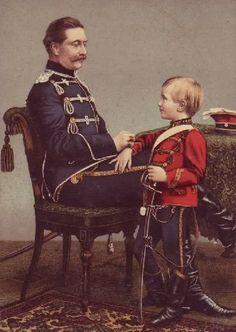 Wilhelm II during a summer break at Balmoral