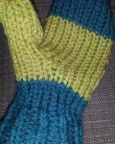 First mitten done!