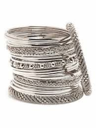 Image result for indian silver bangles
