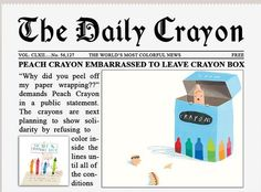 crayon spelled with crayons - Google Search