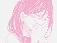 Kawaii, Pink, Girl, Woman, Manga
