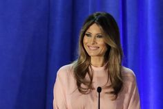 Since first stepping foot inside the White House, Melania Trump has had the interests of American voters in mind. Even critics have admitted Melania has been a graceful and active first lady that has embraced a packed schedule. Unlike Michelle. Trump Melania, First Lady Melania Trump, Donald Trump Frau, Michelle Obama, Trumps Wife, Trump Models, First Ladies, Ladies Man, Sophie Theallet