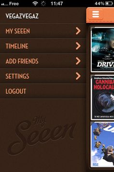An iPhone app about share movies.