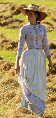 "Carey Mulligan in ""Far From The Maddening Crowd"" (2015). Costume Designer: Janet Patterson"