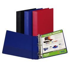 Value Plus Storage - D-Ring binders do not sacrifice quality for price