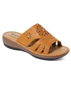 3d4d5e872de Golden Road Tan Cutout-Strap Sandal - Women