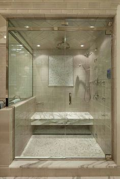 Dream master bathroom shower http://www.garretyglass.com/