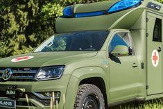 31 parasta kuvaa: Volkswagen Amarok Tamlans - Modular Ambulance