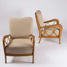 Pair of Paolo Buffa Armchairs 3