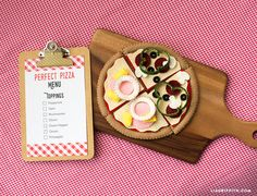 Play Pizza Made From Felt