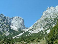 Ellmauer Tor, Kaisergebirge - Kaisergebirge - Kitzbühel - Schwarzsee - Wilder Kaiser Wilder Kaiser, Bergen, Places To Go, Paradise, Wanderlust, Mountains, Country, Travel, Outdoor