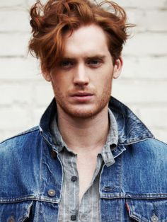 character inspiration - red hair male